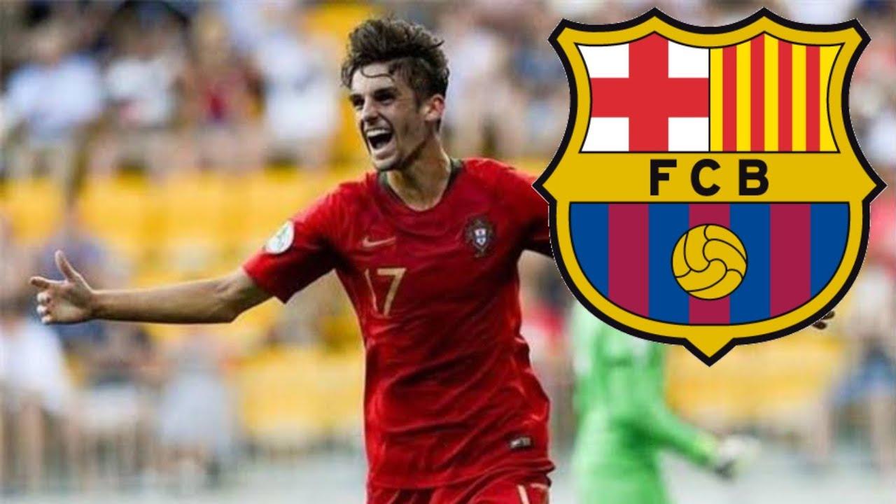 Photo of برشلونة يتعاقد رسمياً مع اللاعب البرتغالي تريناكو